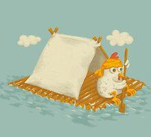 Chicken on a Raft by Lili Batista