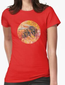 Western honey bee Womens Fitted T-Shirt