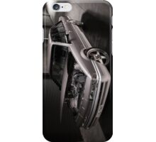 Silver Holden VL Commodore Turbo iPhone Case/Skin