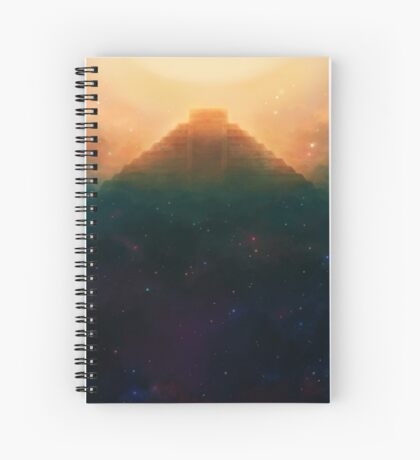 Cosmic Pyramid Spiral Notebook
