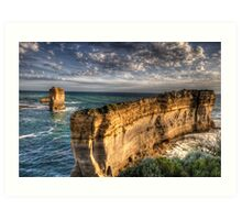 Resolution - Razorback , Great Ocean Road - The HDR Experience Art Print