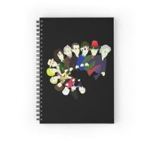 The 13 Puppet Doctors Spiral Notebook