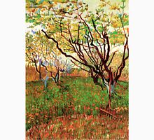 Vincent van Gogh, Orchard in Blossom Unisex T-Shirt