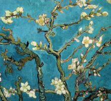 Blossoming Almond Tree, Vincent van Gogh.  Sticker