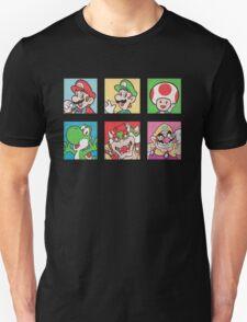 Nintendo Mario and Wario Squares T-Shirt