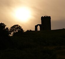 Old John Bradgate Park Leicester sunset by alan700