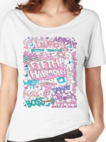 Fifth Harmony collage Women's Relaxed Fit T-Shirt