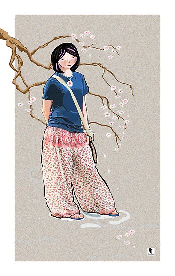 Sakura Girl by goanna