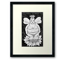 Fuller Figure Fairy Series 1 Framed Print