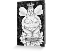 Fuller Figure Fairy Series 1 Greeting Card