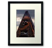 Ye Olde Skyscraper Framed Print