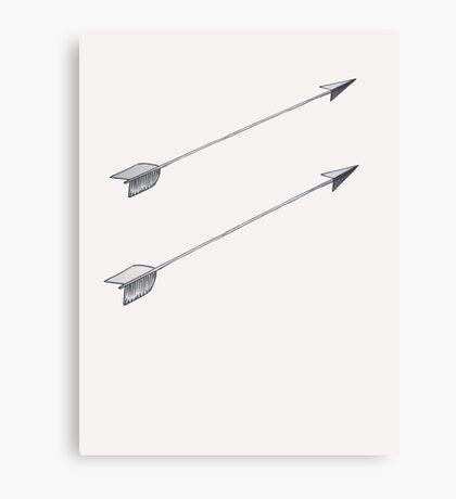 Arrow Arrow! Canvas Print
