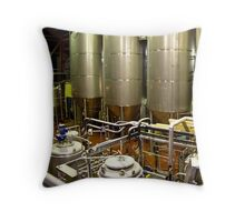 Brewery Throw Pillow