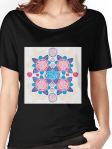 Cotton Candy Roses Women's Relaxed Fit T-Shirt