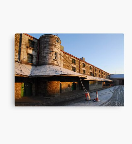 Cork Bonded Warehouses Canvas Print