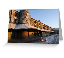 Cork Bonded Warehouses Greeting Card
