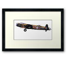 Avro Lancaster BII Profile Framed Print