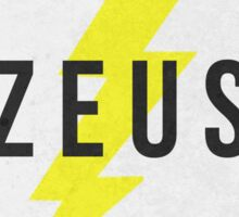 ZEUS - Greek Mythology Sticker