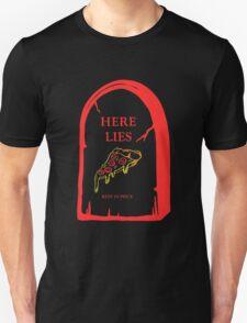 Here Lies Pizza [ Dark Shirts ] T-Shirt