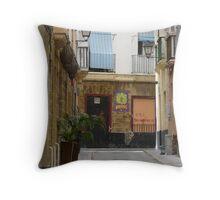Siesta in Cadiz Throw Pillow