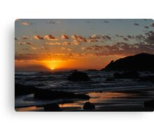 Greeting a New Day Canvas Print