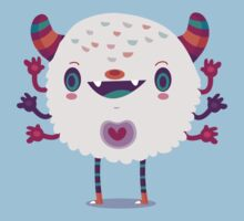 Puffy monster Kids Clothes