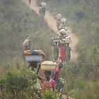 Highway in Congo. by Rune Monstad