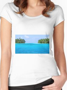 Marshall Islands 2 Women's Fitted Scoop T-Shirt