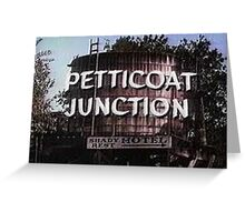 Petticoat Junction water tower Greeting Card