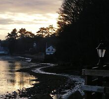 Fishermans Cottage .... Winter light by Graham Povey