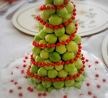 Brussels Sprout Cone by Karen Martin