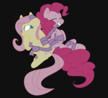 Pinkie Pie and Fluttershy One Piece - Short Sleeve