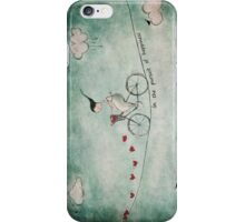 In the pursuit of happiness iPhone Case/Skin