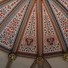York Minster UK Chapter House ceiling by BronReid