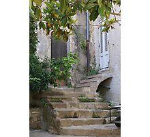Ramatuelle, Provence, France, old house entrance Photographic Print
