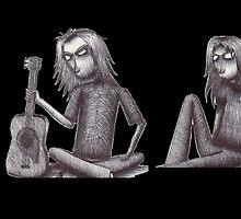 Rag Doll Pearl Jam (Black) by Hannah Christine Nicholson