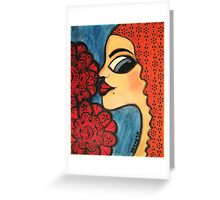 Fleur Greeting Card