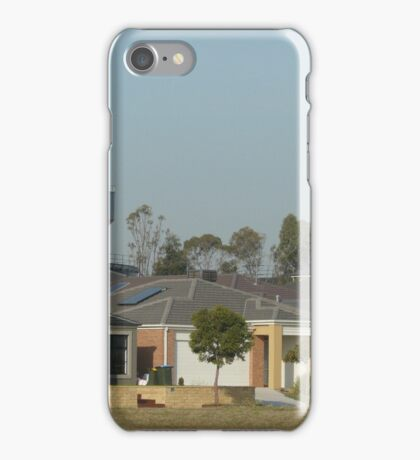 Houses and Water Tower iPhone Case/Skin