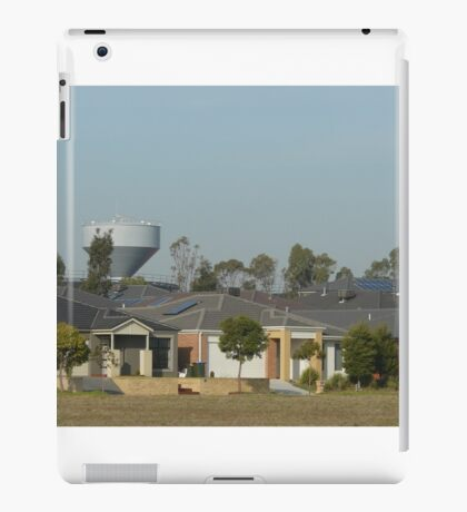 Houses and Water Tower iPad Case/Skin