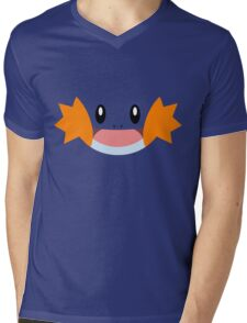 Pokemon - Mudkip / Mizugorou Mens V-Neck T-Shirt