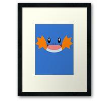 Pokemon - Mudkip / Mizugorou Framed Print