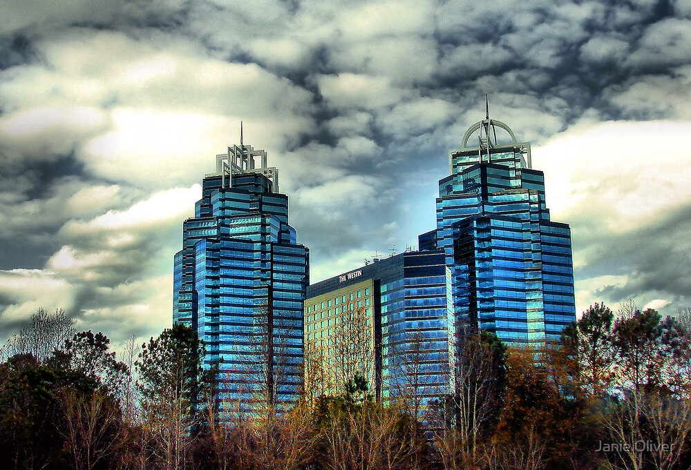 King and Queen Building by Janie Oliver