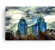King and Queen Building Canvas Print
