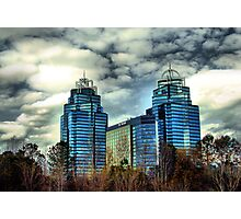 King and Queen Building Photographic Print