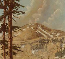 The high country Colorado -acrylic on canvas by Gordon Pegler