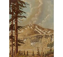 The high country Colorado -acrylic on canvas Photographic Print