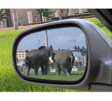 Rearview Mirror Photographic Print