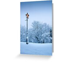 Malvern Lamppost Greeting Card