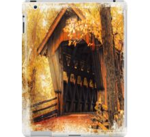 Wisconsin Covered Bridge iPad Case/Skin