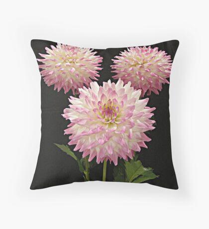 Pink Winners Throw Pillow